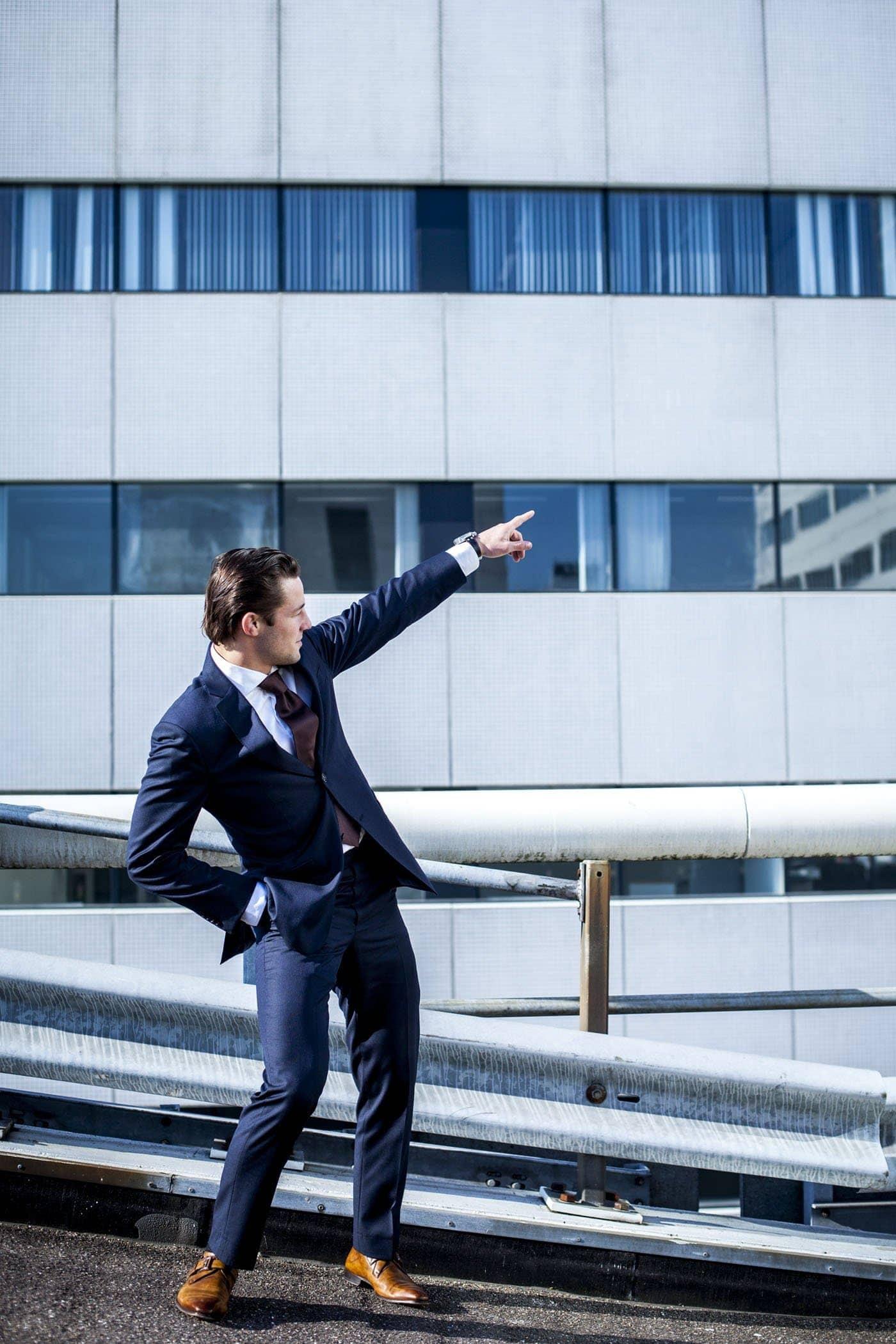 Steinar Henskes CEO Bird Control Group Rotterdam Portretfotografie