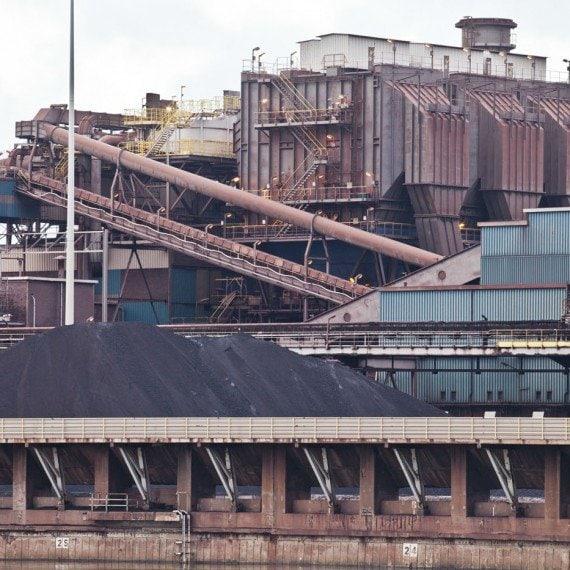 Tata Steel Hoogovens Ijmuiden Industrie