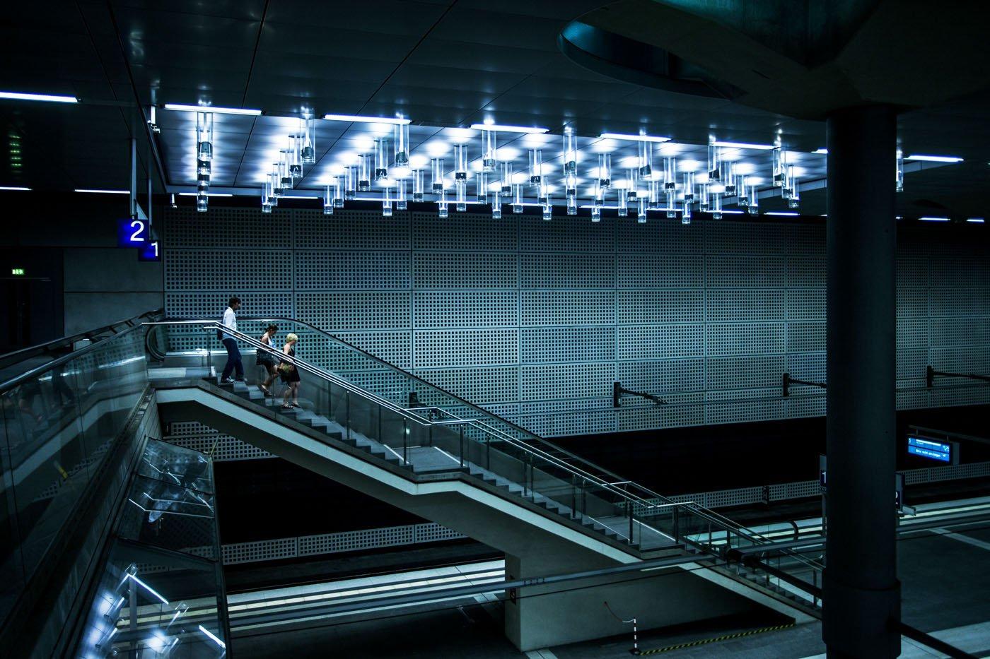 u-Bahn Berlin Metro Subway Architectuur Duitsland