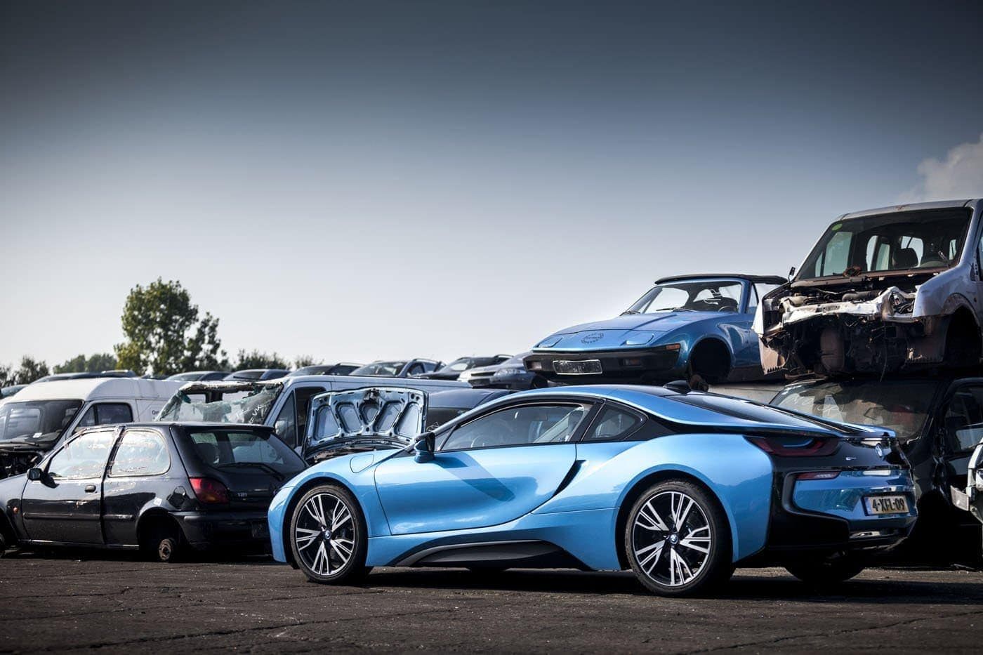 BMW i8 Autogespot Autofotografie