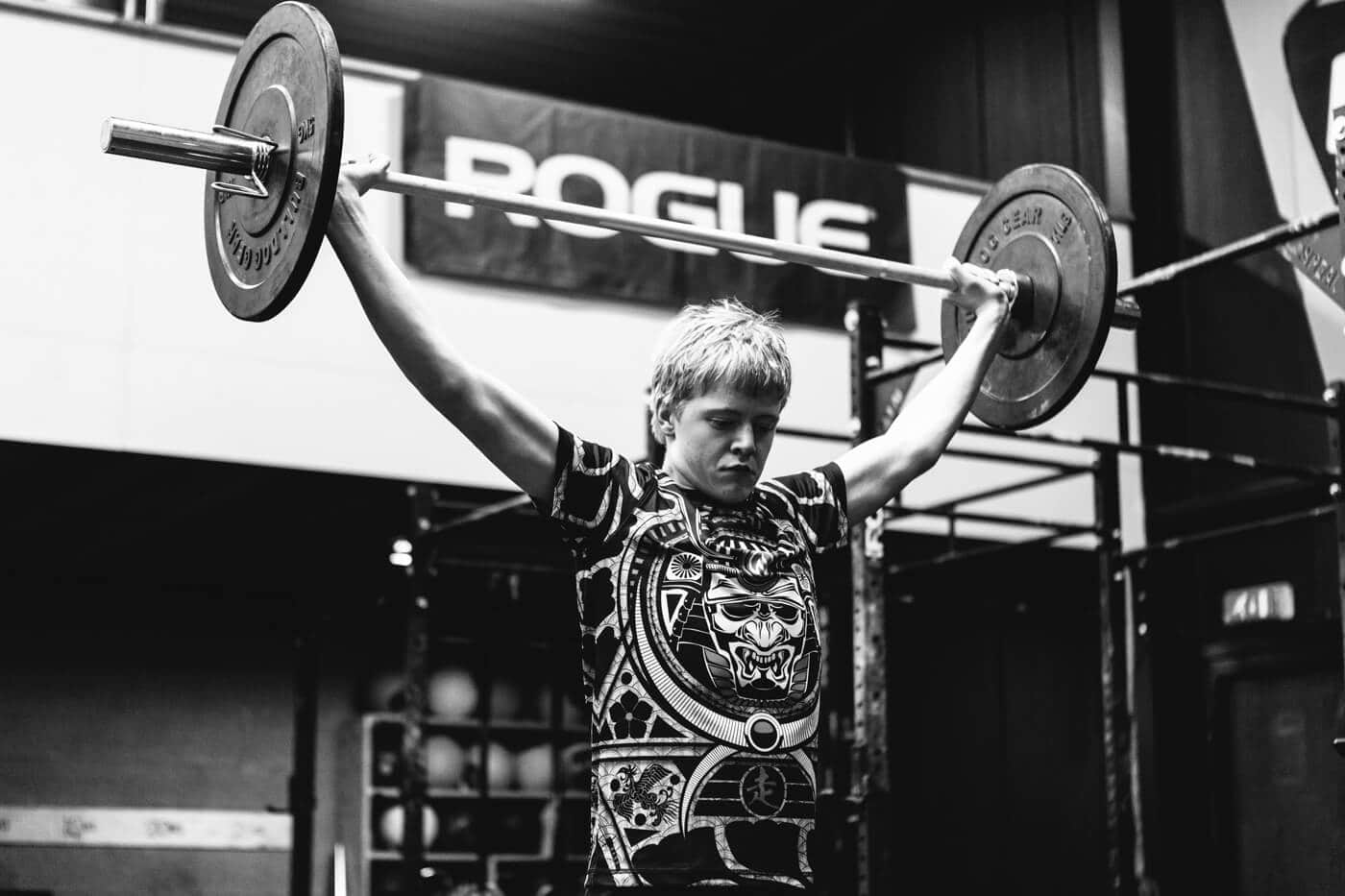 INKnBURN Kleding Product Sport Crossfit Zwart Wit Fotografie Portret
