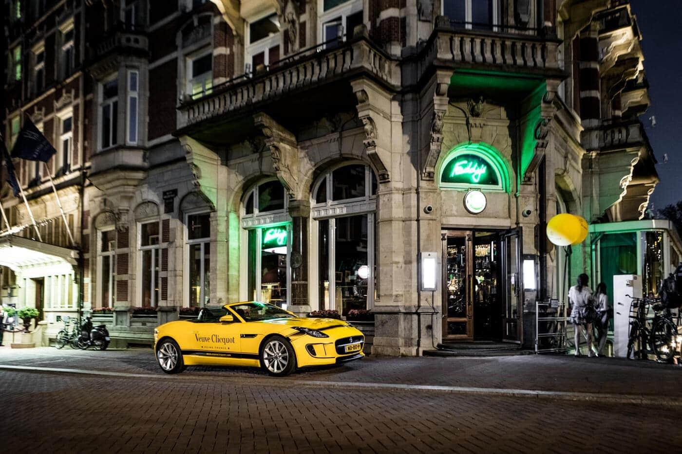 Jaguar Veuve Clicquot Amsterdam F-type