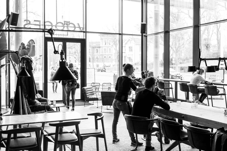 Horecafotografie Haarlem Zwart Wit