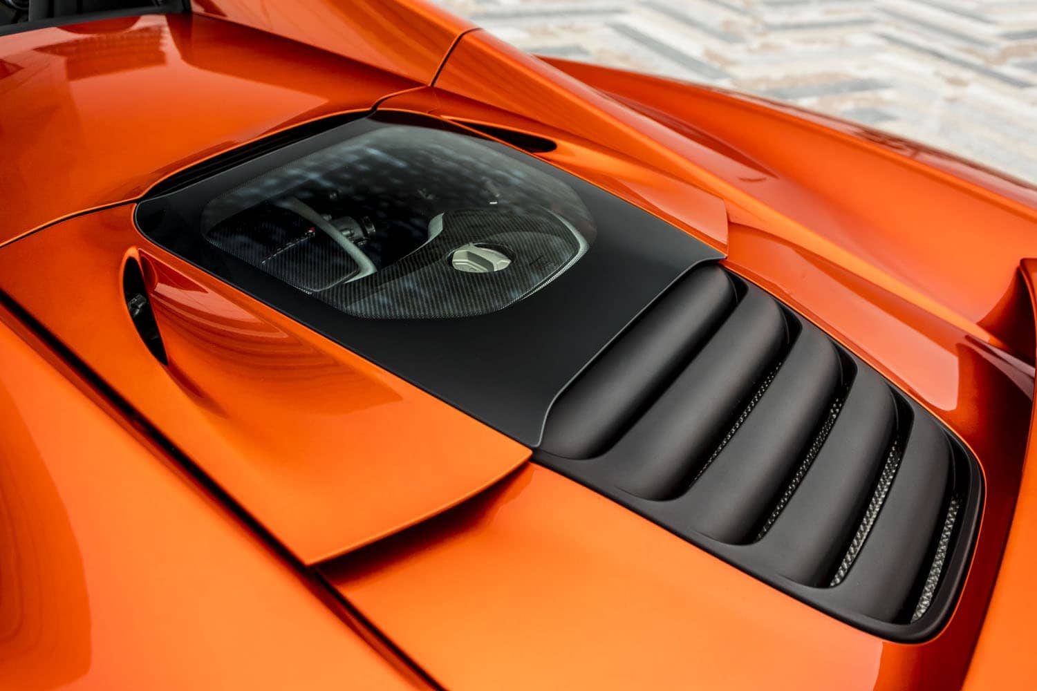 Mclaren 650S Spider Engine Cover
