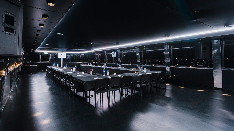 Supperclub Cruise Amsterdam Vergaderzaal